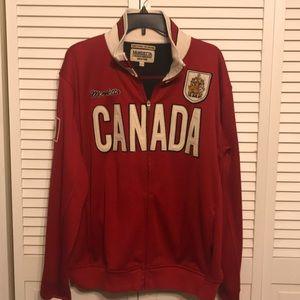 Mondetta Canada Track Jacket with Logo